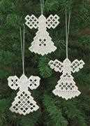 Permin Hardanger Angels 6 Embroidery Kit