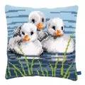 Vervaco Ducklings Cushion Cross Stitch Kit