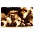 Vervaco Sleeping Dogs Rug Latch Hook Kit