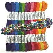 Design Works Crafts Zenbroidery Rainbow Trim Pack Embroidery