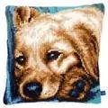 Vervaco Dog Cushion Cross Stitch Kit