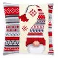 Vervaco Scandi Elf Cushion Christmas Cross Stitch Kit