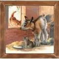 RIOLIS Goat and Kittens Cross Stitch