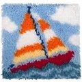 Needleart World Sail Boat Latch Hook Kit