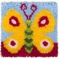 Needleart World Pretty Butterfly Latch Hook Kit