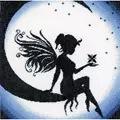 Lanarte Fairy on the Moon Cross Stitch Kit