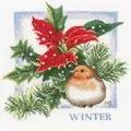 Lanarte Winter Cross Stitch Kit