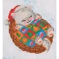 Needleart World Snug Christmas Kitty Diamond Dotz Craft Kit