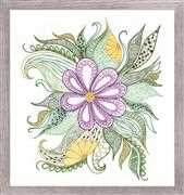 RIOLIS Lovely Flower Floral Embroidery Kit