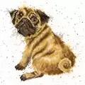 Bothy Threads Pug Cross Stitch Kit