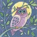 Heritage Owl - Evenweave Cross Stitch Kit