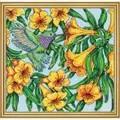 Design Works Crafts Hummingbird Floral Cross Stitch Kit