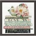 Design Works Crafts Love Is Wedding Sampler Cross Stitch Kit