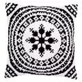 Vervaco Black and White Cushion Cross Stitch Kit