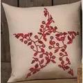 Permin Christmas Berries Pillow Cross Stitch Kit