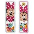 Vervaco Minnie Bookmarks - Set of 2 Cross Stitch Kit