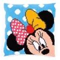 Vervaco Peek-a-Boo Minnie Cushion Cross Stitch Kit