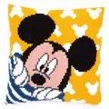 Vervaco Peek-a-Boo Mickey Cushion Cross Stitch Kit