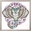 Design Works Crafts Zendazzle - Elephant Embroidery Kit