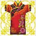 Needleart World Samurai Rose No Count Cross Stitch Kit