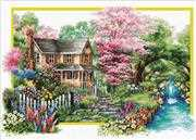 Needleart World Spring Comes No Count Cross Stitch Kit