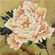 Needleart World Blooming Peony II Floral No Count Cross Stitch Kit