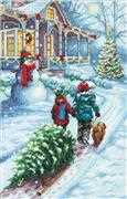 Dimensions Christmas Tradition Cross Stitch Kit