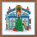 RIOLIS Ice Cabin Christmas Cross Stitch Kit