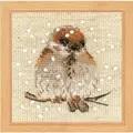 RIOLIS Sparrow Christmas Cross Stitch Kit