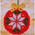Needleart World Red Bauble Diamond Dotz Craft Kit Christmas Craft Kit