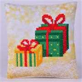 Needleart World Christmas Gifts Pillow Diamond Dotz Craft Kit