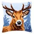 Vervaco Deer Cushion Cross Stitch Kit