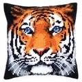 Vervaco Tiger Cushion Cross Stitch Kit