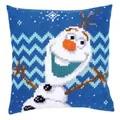 Vervaco Olaf Cushion Cross Stitch Kit