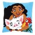 Vervaco Moana Cushion Cross Stitch Kit