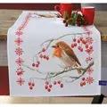 Vervaco Robin Runner Christmas Cross Stitch Kit