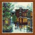 RIOLIS Rainy Summer Cross Stitch Kit