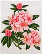 Grafitec Pretty Pinks Floral Tapestry Canvas
