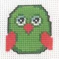 Permin Owl Cross Stitch Kit