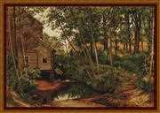 Luca-S Cabin in Woods - Petit Point Tapestry Kit