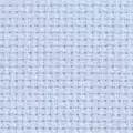 Permin 16 Count Aida Metre - Blue Fabric