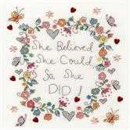 Bothy Threads Love Note Cross Stitch Kit