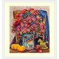 Merejka Sugar Floral Cross Stitch Kit