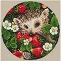 Merejka Strawberries Cross Stitch Kit
