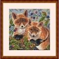 Merejka Foxes Cross Stitch Kit