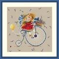 Merejka Lavender Cross Stitch Kit