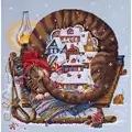 Merejka Cosy Winter Cross Stitch Kit