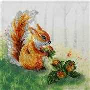 VDV Squirrel with a Nut Embroidery Kit
