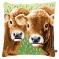 Vervaco Two Calves Cushion Cross Stitch Kit