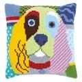 Vervaco Modern Dog Cushion Cross Stitch Kit